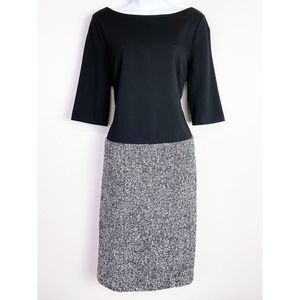 TALBOTS Classic Tweed ColorBlock Office Career NWT